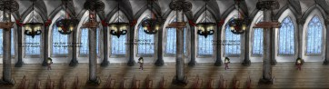 Vatican Infiltration Level 2 Concept Artwork