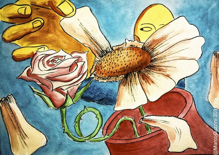 Petali , Breve illustrazione narrata