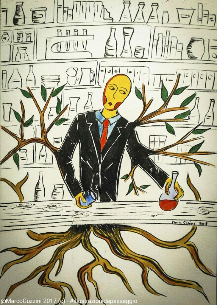 Trasformarsi temporaneamente in albero