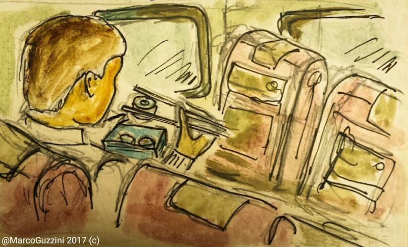 sketchbook Marco Guzzini Giappone - viaggiare