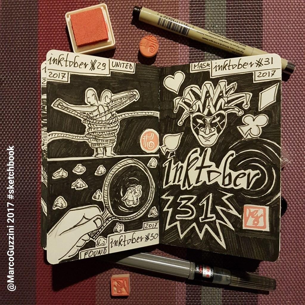 sketch inktober marco guzzini