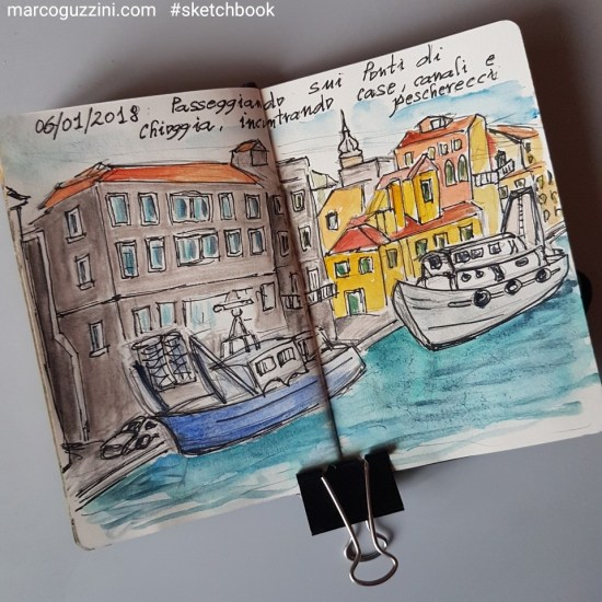 sketchbook chioggia