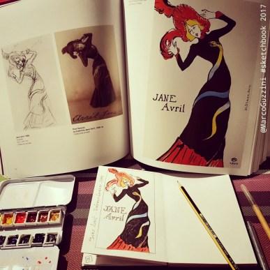 sketchbook Lautrec