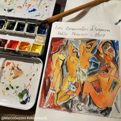 sketchbook Picasso