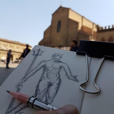 disegnare a bologna visitare bologna