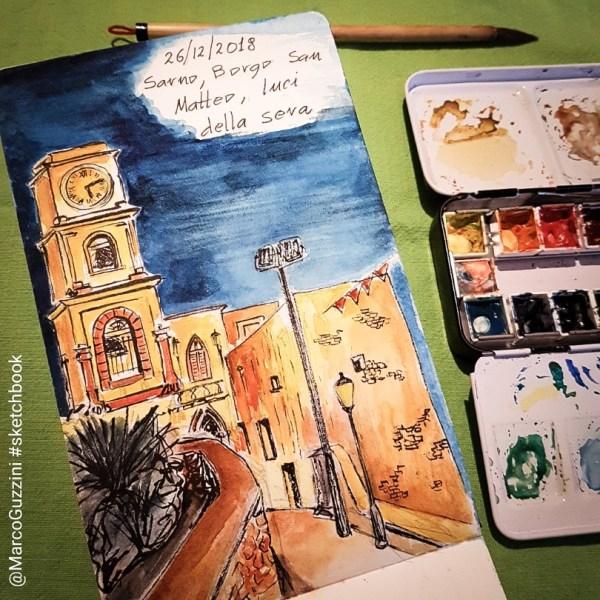 Racconti di un natale illustrato , Borgo San Matteo a Sarno