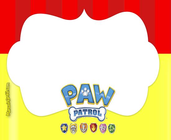 Marcos De Paw Patrol Marcos Infantiles