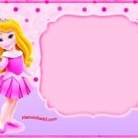 Marcos de Princesa Aurora o Bella Durmiente