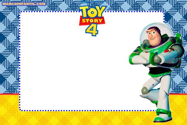 Buzz-Toy-Story-4-marcos-tarjetas-imagenes-invitaciones