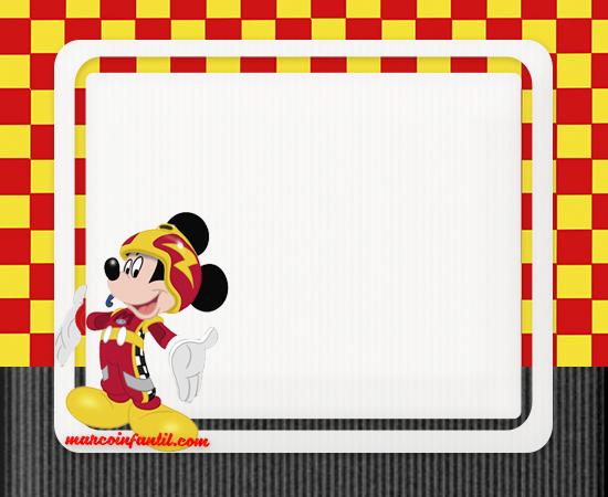 Marcos De Mickey Aventuras Sobre Ruedas Marcos Infantiles
