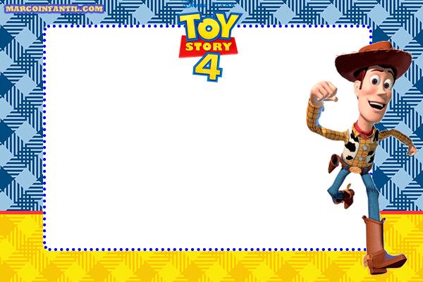 Woody-Toy-Story-4-marcos-tarjetas-imagenes-invitaciones.
