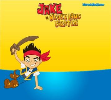 Marcos De Jake Y Los Piratas De Nunca Jamás Marcos Infantiles