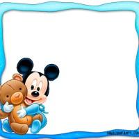 Marcos de Mickey bebé