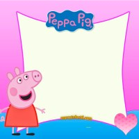 Marcos de Peppa Pig y George Pig
