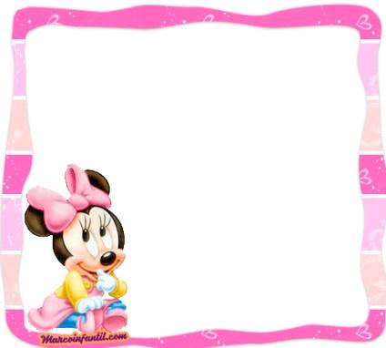 Minnie Bebe imagenes - marcos de minnie bebe - minnie imprimibles