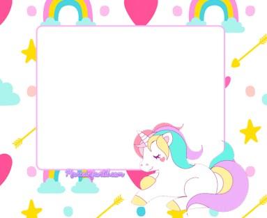 unicornios imagenes imprimibles