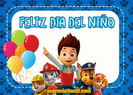 Imagenes Y Marcos Con Frase Feliz Dia Del Nino Marcos