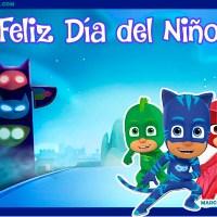 Imagenes y marcos con frase Feliz Dia del Nino