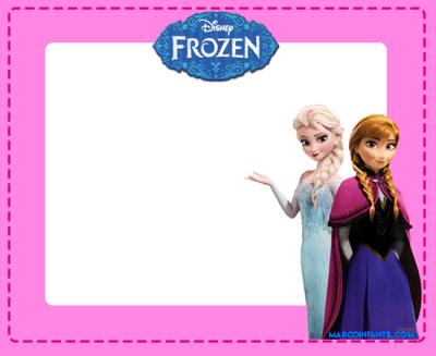 marcos de elsa y anna frozen