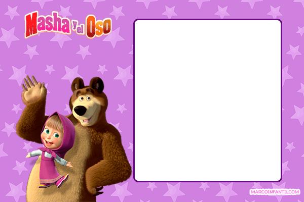 Masha & The Bear stickers