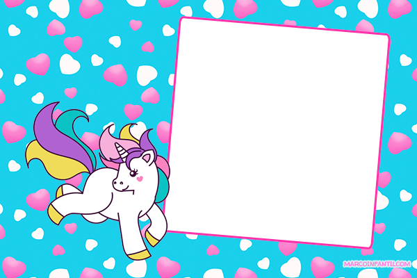 Unicorn cards stickers