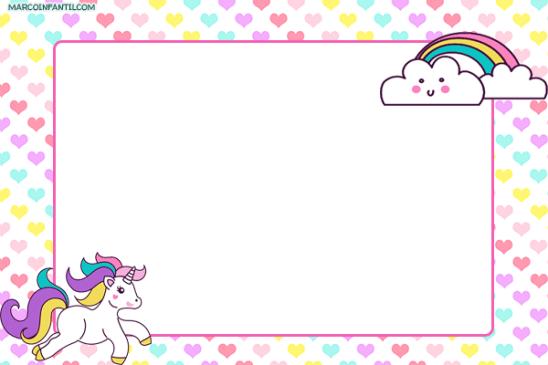 Unicornio convite