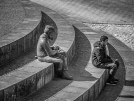 Sculptue in Kappeln