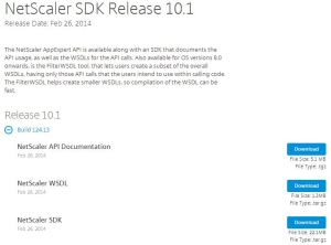 Netscaler-SDK-Download