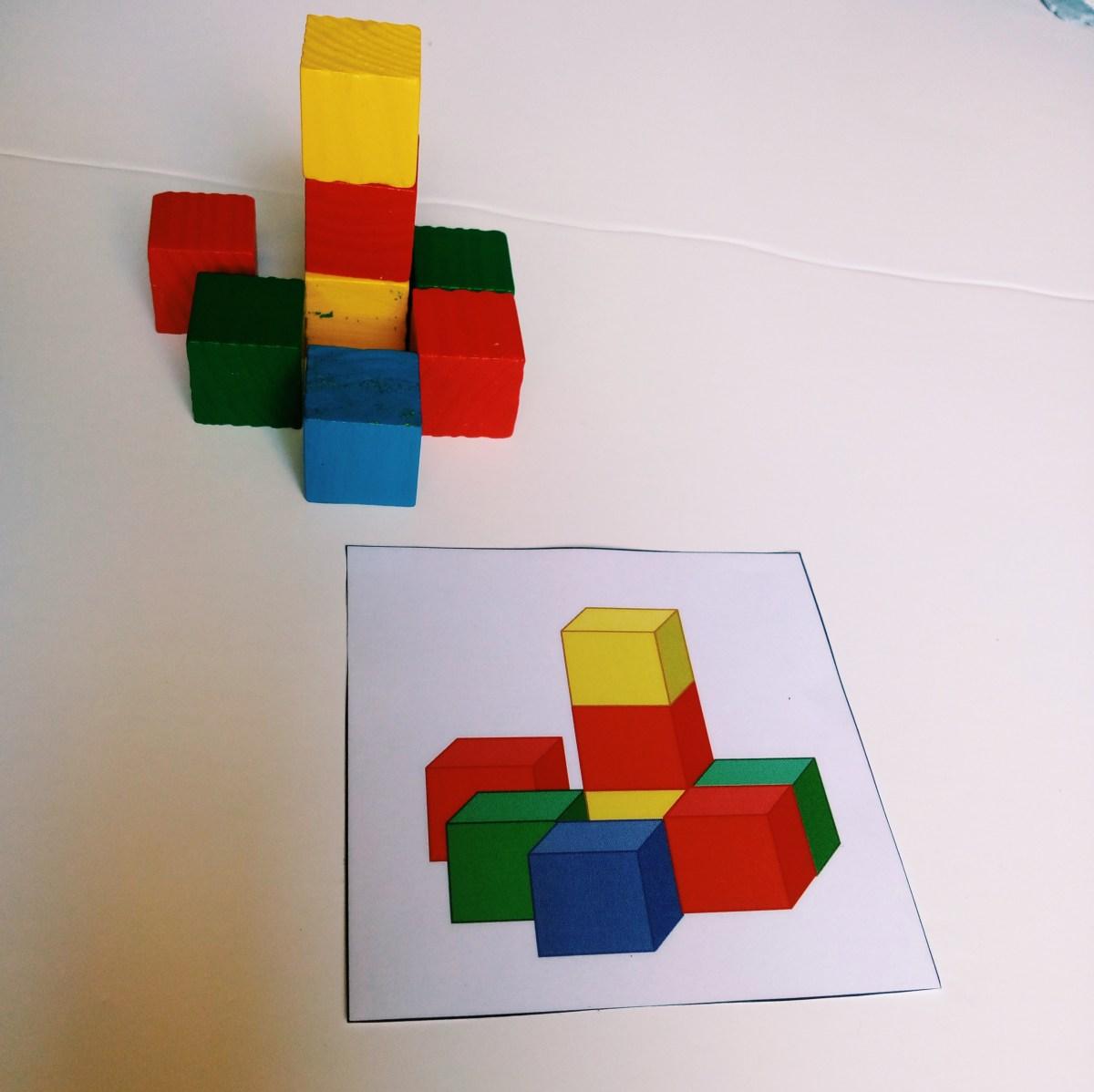 Construções com cubos
