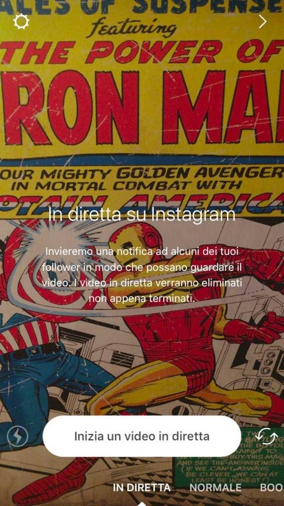 Instagram-live-in-italia