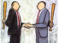 negociación dura