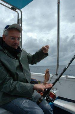 Con i terminali a bandiera e braccioli più corti sgli sciarrani sono i pesci maggiormente catturabili