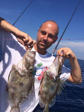 Coppiola di San Pietro pesca sul relitto