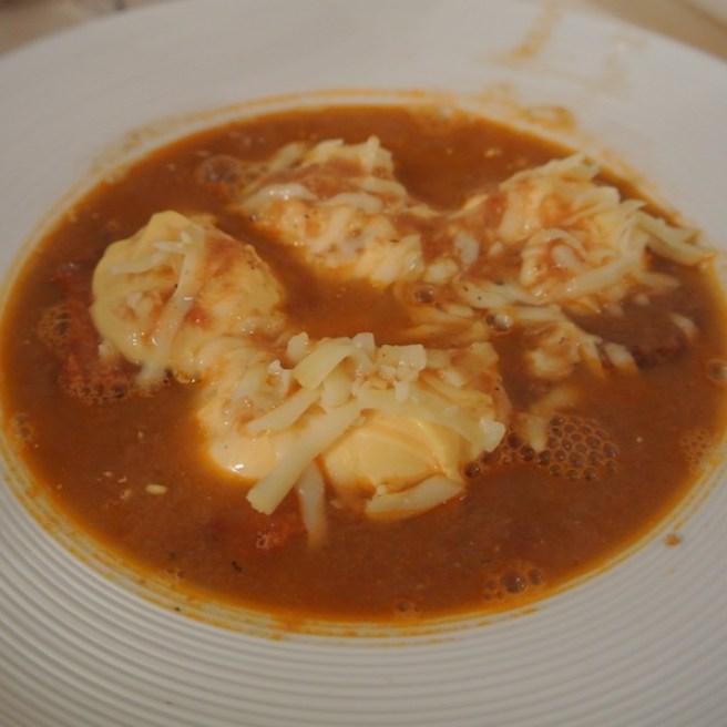 Buiabesse o zuppa corsa preparata solitamente nelle minicrociere
