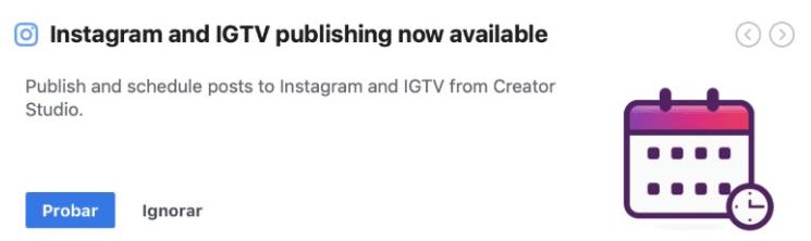 programacion posts instagram