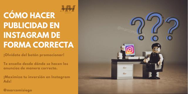 Cómo hacer publicidad en Instagram Ads de forma correcta