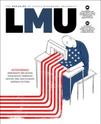LMU Magazine Winter 2014 Cover