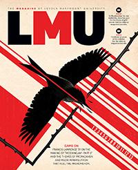 LMU Magazine Winter 2015 Cover