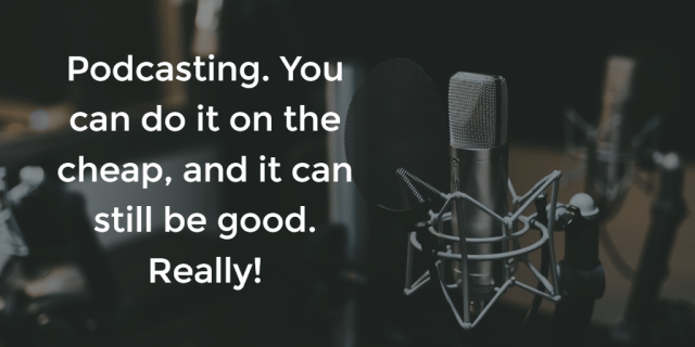 podcasting - wide image