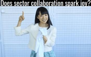 Does sector collaboration spark joy?