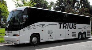 trius tour bus