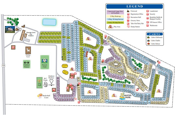 Image of Campground Map 2019