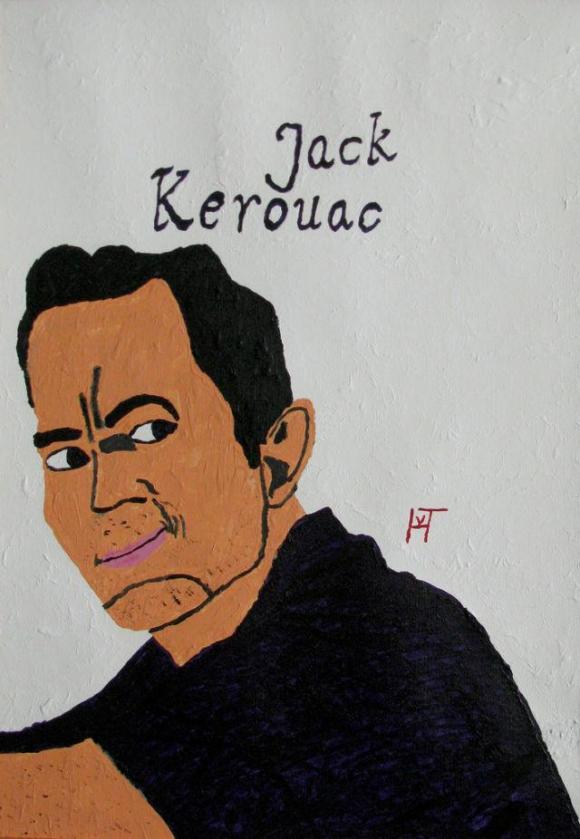 schilderij Jack Kerouac