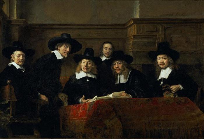 Rembrandt - Staalmeester