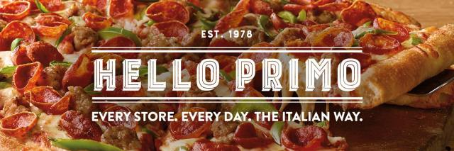 "An image of a pepperoni, sausage and green pepper pizza with the text ""Est. 1978 