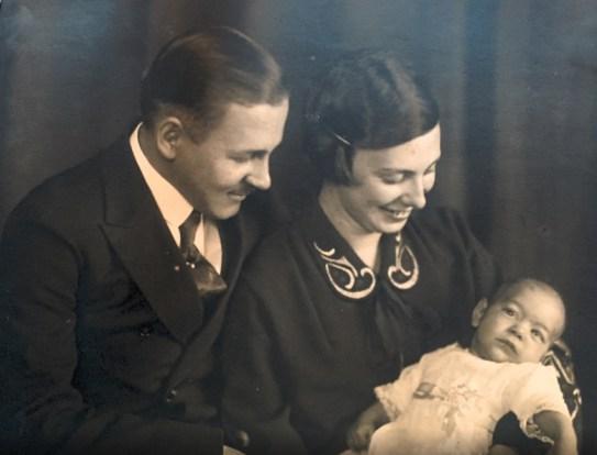 Foto con mis papás