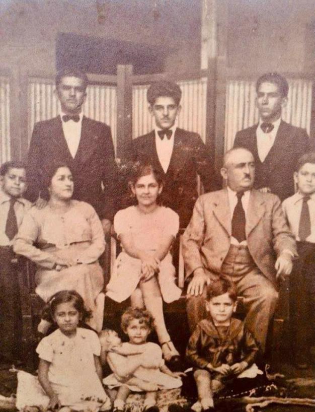Historia de familia en Bolivia