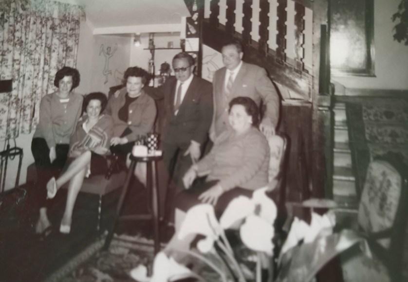 Visita de Rosa a los Reyes Ortiz