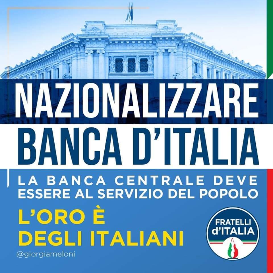 Risultati immagini per nazionalizzazione bankitalia