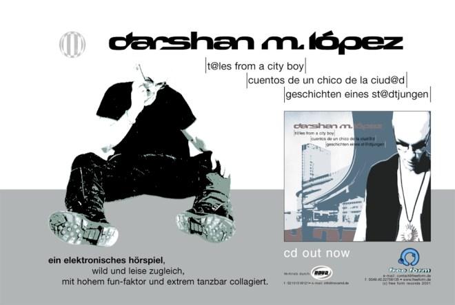 Anzeige - Dashan M. López - Tales From A City Boy